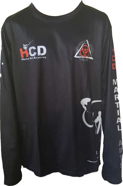 HCD Martial Art Academy - Casual LS Front