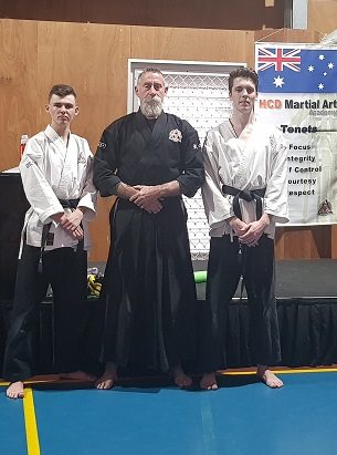 HCD Spring Grading - New Black Belts